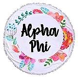 Sorority Shop Alpha Phi - Fringe Towel - Blanket
