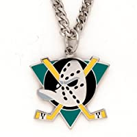 NHL Necklace with Charm Clamshell