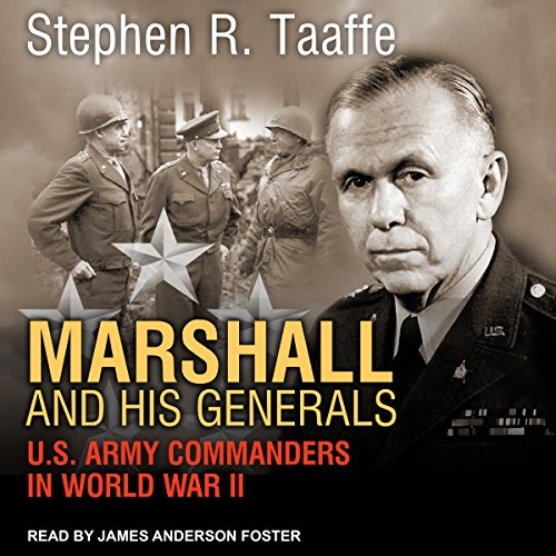 Marshall and His Generals audiobook cover art