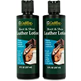 Cadillac Boot and Shoe Leather Lotion 8 Fl Oz (2-pack) -...