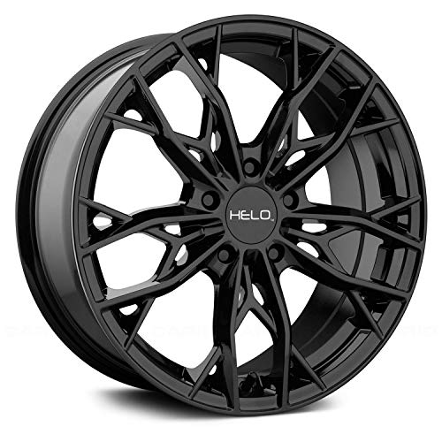 HELO HE907 Gloss Black Wheel Chromium (hexavalent compounds) (17 x 7. inches /5...