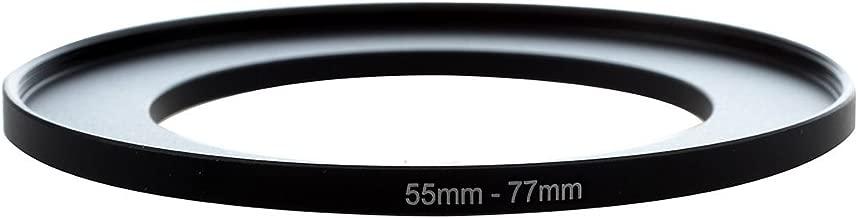 SODIAL R  Metal 55mm-77mm Camera Step Filter Ring Adapter 55-77