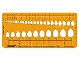 Pear Diamond Gemstone Guide Symbols Template Stencil Jewellery Designing Drawing Drafting Templates