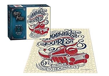 USAopoly USOPOPPZHPHOGEX Harry Potter Hogwarts Express 200 Piece Puzzle