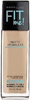 Maybelline Base de Maquillaje Fit Me Matte, 118 Light Beige