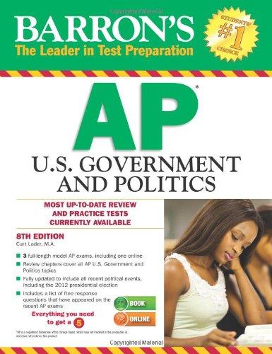 Barron's AP U.S. Government and Politics, 8th Edition