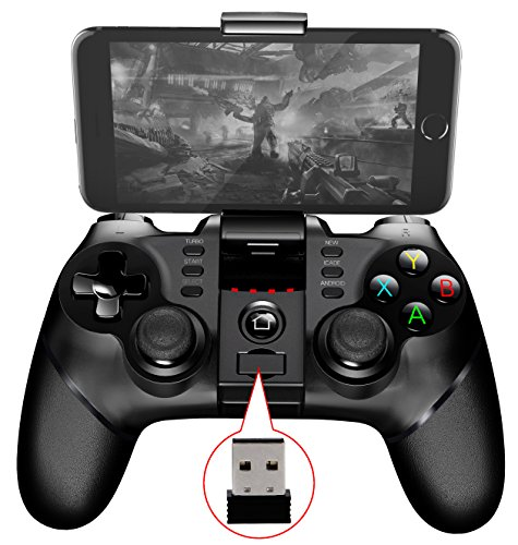 2017NEUF Batman Manette de jeu Manette de jeu sans fil Bluetooth pour iPhone téléphone Android Win XP Tablet PC