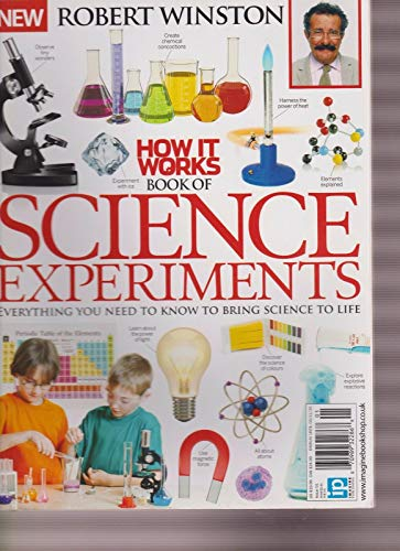 HOW IT WORKS MAGAZINE #01 2015, BOOK OF SCIENCE EXPERIMENTS.