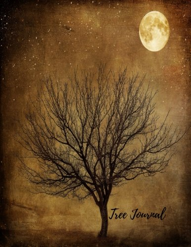 Tree Journal: Large 8.5 by 11 Blank, Empty, Unlined, Unruled Paper Notebook To Write In For Men, Women, Girls, Boys, Kids & Adults. Writing Book Pad With 150  Pages (Blank Journals) (Volume 13)
