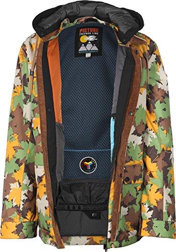 Picture Havane Jacket MVT144 Herren-Snowboardjacke Green/Camo Gr. S