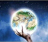 DIY 5Dダイヤモンドペインティングスペースユニバースラージサイズフルキットダイヤモンドペインティング星空風景ダイヤモンド刺繍ユニバーススペースランドスケープクロスステッチ家庭用品家の装飾