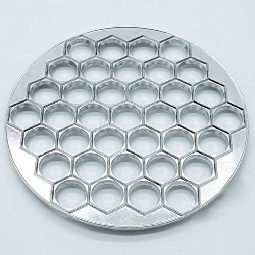 Dumpling molde aleación aluminio 37 hoyos fácil bricolaje suministros para el hogar...