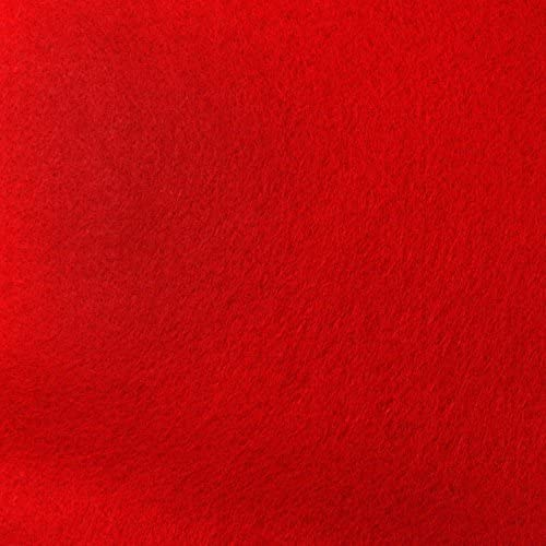 Red Max 69% OFF Max 74% OFF Felt Fabric - by The Yard