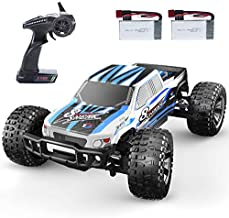 DEERC 9200E RC Cars 1:10 Scale Large High Speed Remote Control Car for Adults Kids,48+ kmh 4WD 2.4GHz Off Road Monster Truck Toy,All Terrain Electric Vehicle Boy Gift with 2 Batteries for 40+ Min Play
