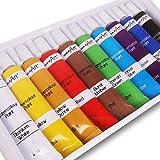 10Pc High Quality Watercolour Paint Set - 12ml Tubes