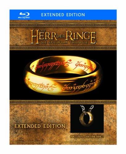 Der Herr der Ringe - Die Spielfilm Trilogie (Limited Extended Editions inkl. Der Eine Ring