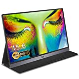 Monitor Portatile - IVV IPS Schermo Monitor Portatile da 15.6' 1080P Full HD, con Monitor USB C HDMI per PC, Laptop, Cellulare, Xbox One Switch PS3 PS4 Pro PS5, con Guscio Protettivo