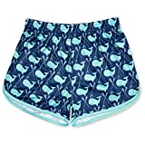 Girls Lacrosse Athletic Shorts   Whale Print Lax   Youth Small