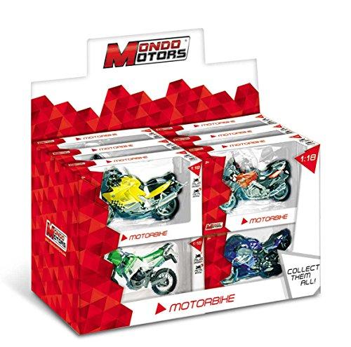 Model Motorfiets Mondo-1/18 Honda NR, model / kleuren gesorteerd, 1 stuk