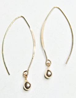 Sosie Designs Jewelry Rose Gold Over Sterling Silver Marquis Kisses Earrings