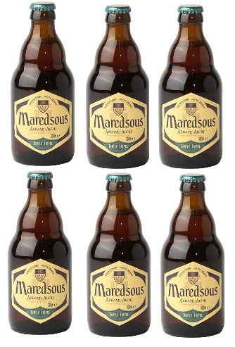 6 Flaschen Maredsous Tripel a 0,33l 10% Vol. inc. MEHRWEG Pfand