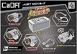 CADA Technik Hochleistungsversion des technischen Kfz-Funktionskits mit 3 Motoren, LEDs, Batteriekasten und 2,4-GHz-Fernbedienung (kompatibel mit vielen Modellen von Lego S059-003