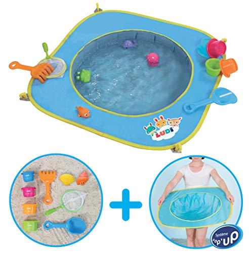 Ludi Pool–Planschbecken für Kleinkinder, Modell: 123Soleil