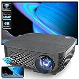 WISELAZER Projector,Native 1080P Ultra HD Home Movie...