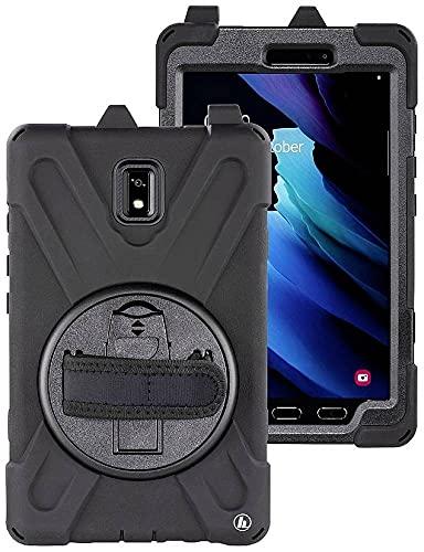 Preisvergleich Produktbild Hama Rugged Style Backcover Samsung Galaxy Tab Active 3 Schwarz Tablet Tasche,  modellspezifisch