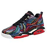 Mixte Adulte Chaussure de Basket Mode Coussin d'air Homme Femme Chaussure de Sport Antidérapant Multicolore 44