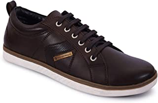 Bacca Bucci Men Brown Casaul Lace-ups Sneakers
