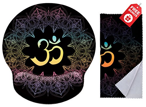 Símbolos espirituales Ohm Mandala Print