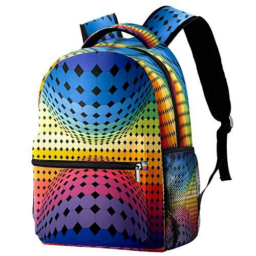 Mochila escolar para amantes de los leones, mochila para libros, informal, para viajes, estampado 4 (Multicolor) - bbackpacks004