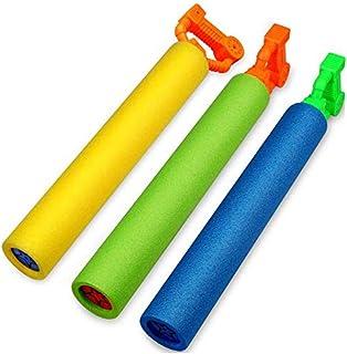 Foam Water Guns Toys,Womdee Water Gun for Kids,3 Pcs Foam Water Pistol Blaster Shooter Pump Outdoor Summer Beach Swimming ...
