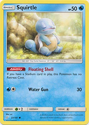 Squirtle - 22/181 - Common - Team Up