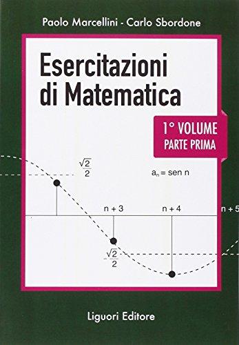 Esercitazioni di matematica: 1\1