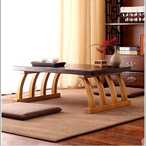 Goede Tv staande lamp telefoontafel sofa bijzettafel eiken tafel salontafel woonkamermeubels tafel massief tafel computertafel multifunctioneel satami-tafel bedtafel hoog belastbaar (kleur: tafelmaat: 30 X 30 * 45 * 70 cm hout
