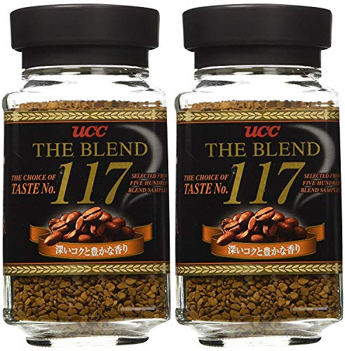 UCC - The Blend 117 Instant Coffee 3.52 Oz. - PACK OF 2
