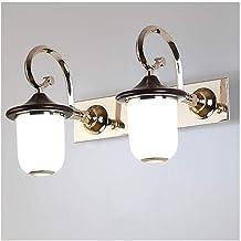 -Wandlamp spiegellamp, LED badkamer spiegellamp dressing tafellamp make-up lamp toilet lamp niet geperforeerde wandlamp sl...
