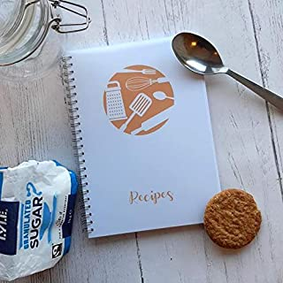 Stationery Geek Recipe Journal - Dyslexia Friendly Edition