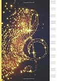 Quaderno Pentagrammato: 12 Pentagrammi - A4 Formato Grande