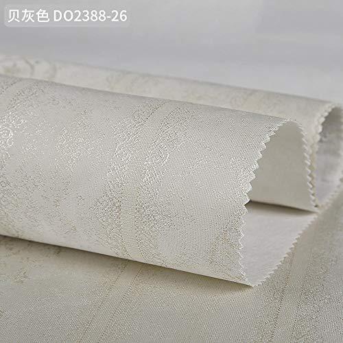 ZHOUKEYU Nahtlose Tapete moderne minimalistische gestreifte Tapete im europäischen Stil Schlafzimmer Wohnzimmer Studie TV Hintergrund Wand Papierschale grau