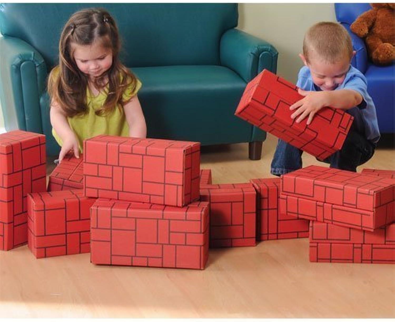 garantizado CP CP CP Juguetes Giant Durable 12 pc. Constructive Blocks Set for Indoor Jugar by Constructive Jugarthings  ventas en línea de venta