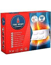 THE HEAT COMPANY Cintura Térmica - 3 piezas - EXTRA CÁLIDO - 12 horas de calor acogedor - calor instantáneo - activado por aire - puro natural - para todos los tamaños: S-XL