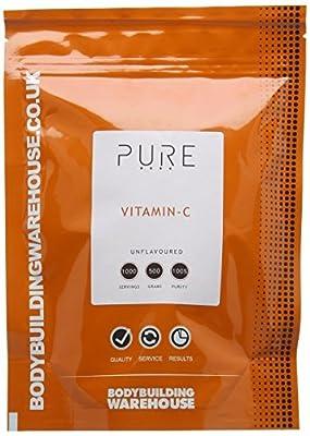 Bodybuilding Warehouse Pure Vitamin C Powder (500g)