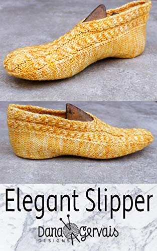 Elegant Slipper: A Knitting Pattern by Dana Gervais (English Edition)