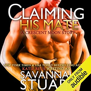 Claiming His Mate audiobook cover art