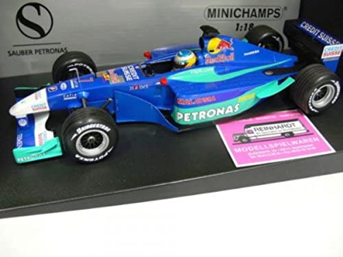 1 18 Minichamps rot Bull Sauber Petronas N. Heidfeld Showcar 2002  7
