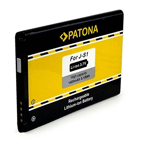 PATONA Bateria J-S1 1400mAh Compatible con Blackberry Curve 9320 9720