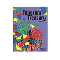 ETA hand2mind タングラム トレジャーブック、グレード 3-6